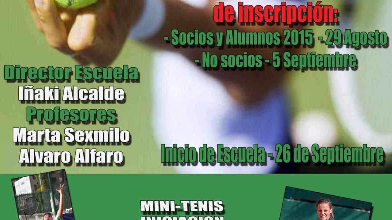 Escuela de Tenis Oberena 2016/2017