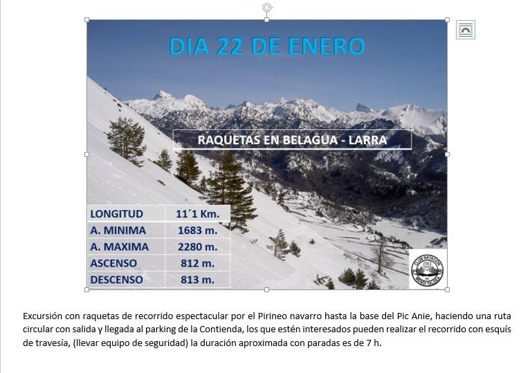 Salida con raquetas y esquís de travesía – 22 enero