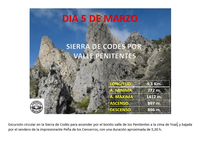 Sierra de Codés, 5 Marzo