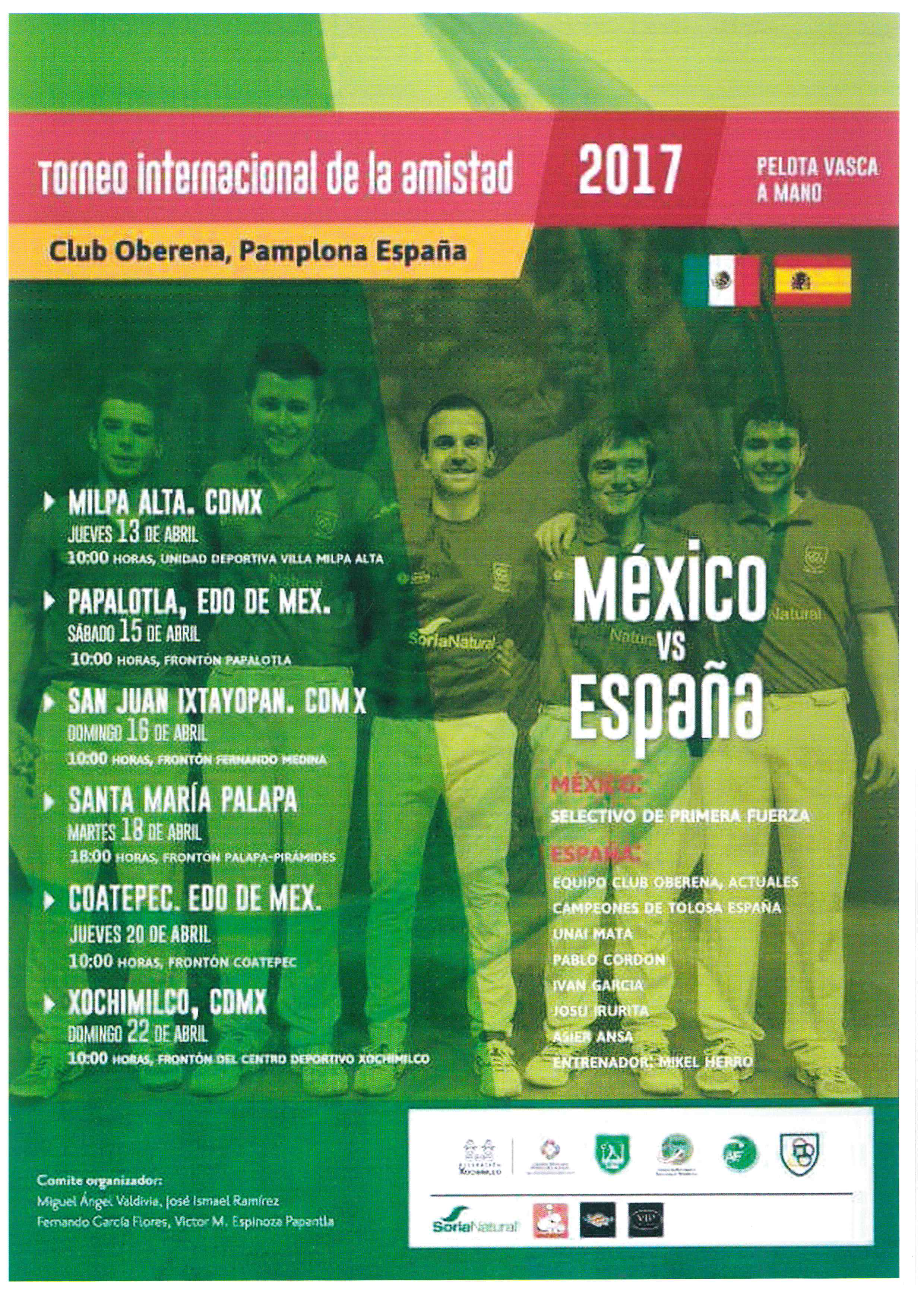 Pelota - Torneo de la Amistad 2017