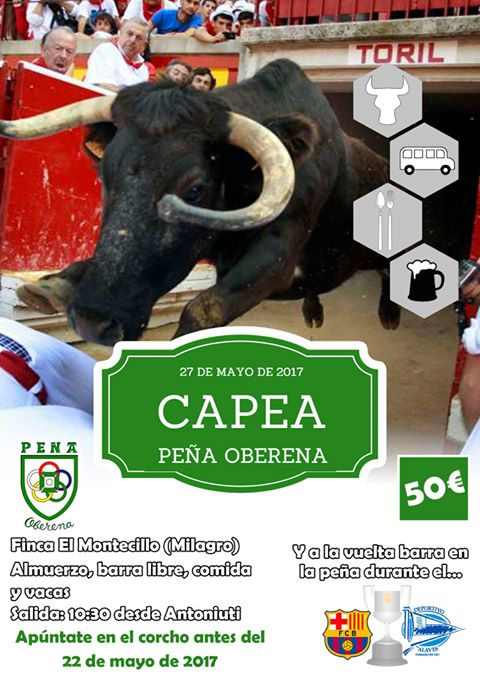 Capea, Peña Oberena