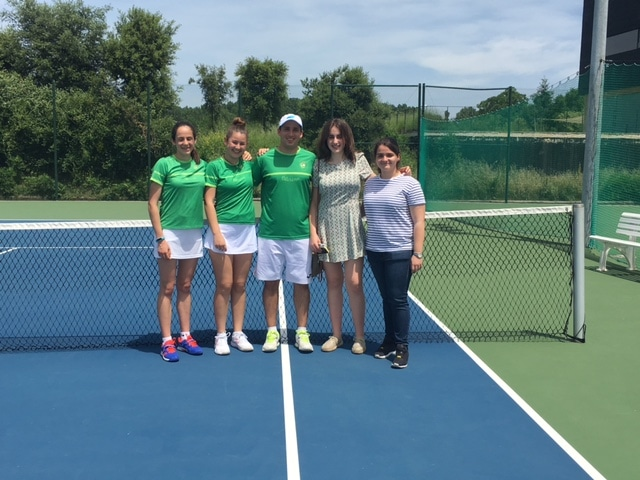 Tenis Oberena – Campeonas de Navarra Junior por equipos 2017