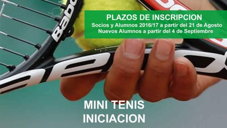 Escuela de Tenis Oberena 2017/18