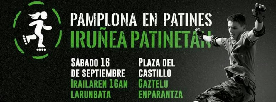 Pamplona en Patines