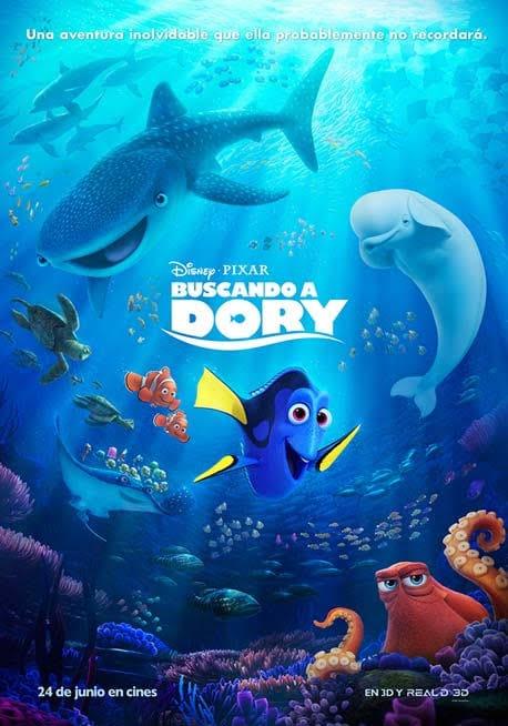 """Cine domingo, """"Buscando a Dory"""""""