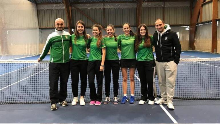 TENIS – Equipo Junior Femenino Campeón Navarro