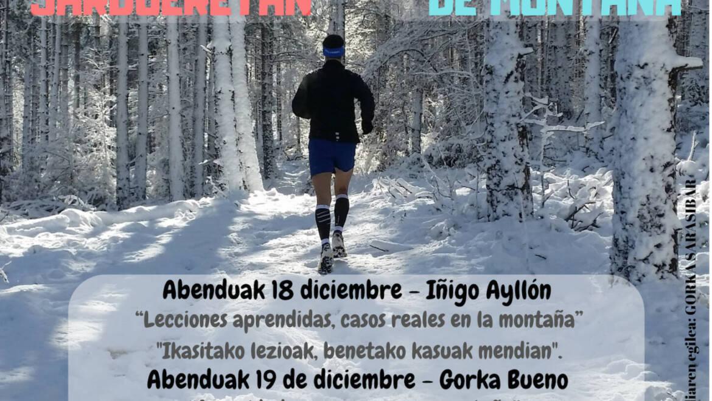 Montaña: Seminario sobre salud y seguridad en actividades de montaña