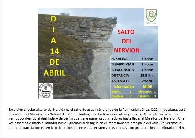 14 Abril: Salto del Nervión