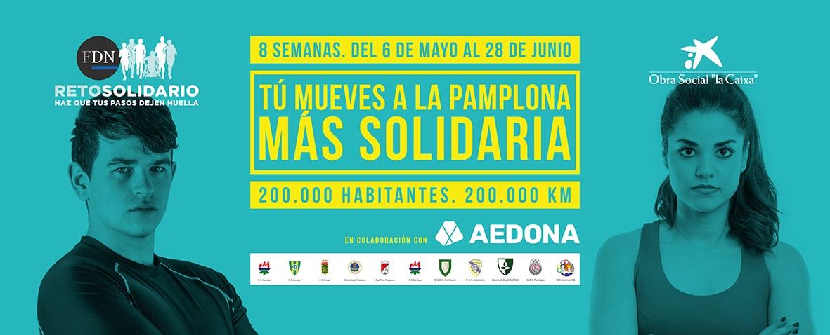Participa en el Reto Solidario de Fundación DN y AEDONA