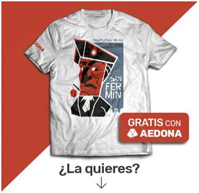 Camisetas de San Fermín gratuitas