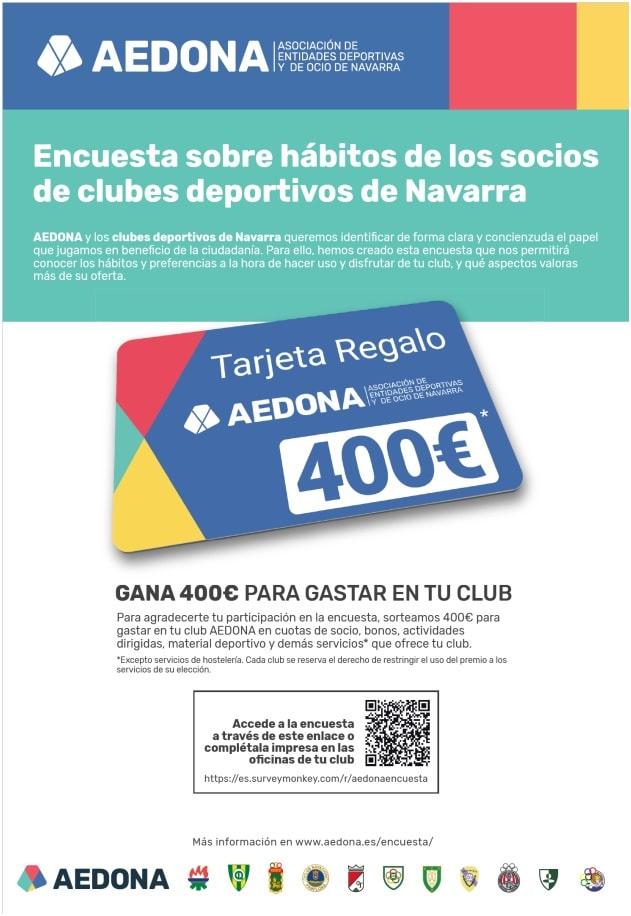 ¿Quieres ganar 400€ para gastar en tu club?