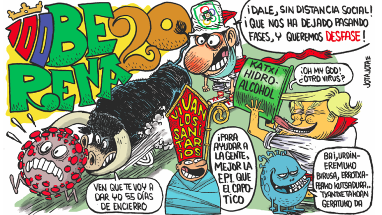 PANCARTA PEÑA OBERENA 2020