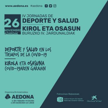 IV JORNADAS DE DEPORTE Y SALUD