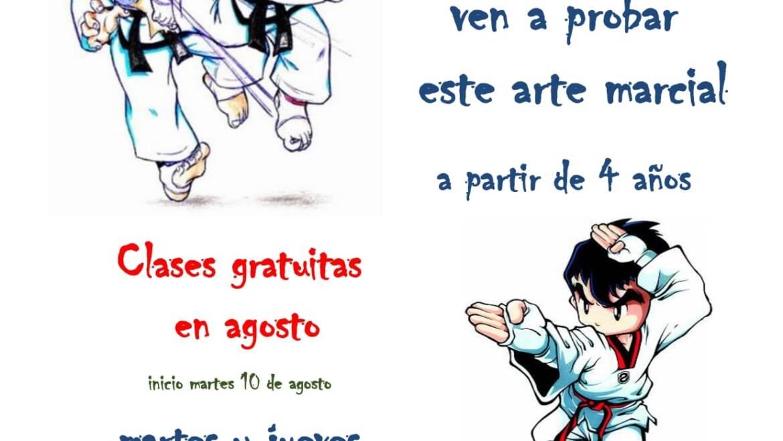 CLASES GRATUITAS DE TAEKWONDO
